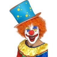 Fest-accessoires Clownshut mit voller Perücke
