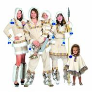 Faschingskostüm: Eskimo Familie Keano