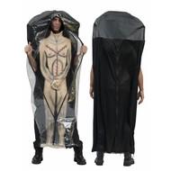 Halloween/horrorkostüm: Polybag-kostüm
