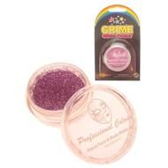Party-bedarf: Schminke Glitterpuder rosa