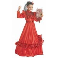 Faschingskostüm: Spanische Dame