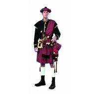 Party-kostüme: Schottischer Dudelsack-spieler