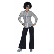 Party-kostüme: Disco Bluse und Hosen