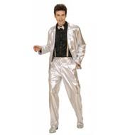 Faschingsklamotten: Golden oder silberne Jacken für Männer