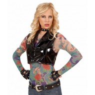 Karnevalsbekleidung: Tattoo-shirt Engel