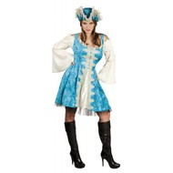 Party-kleidung: Blaue Piratin