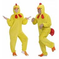 Faschingskostüme Plüsche gelber Hühner Anzüge für Erwachsenen