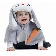 Karnevalskostüm: Bunny Jumpsuit oder Cape