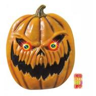 Halloween Accessoires: Kurbisch mit leuchtende Auge