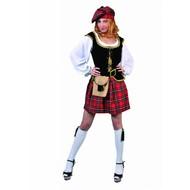 Party-kostüme: Sexy Scottish Girl
