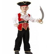 Faschingskostüme Piratenkapitän  Jesse