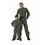 Karnevalskostüm: Topgun Pilot Randy & son