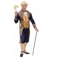 Theaterkostüme: Freiherr in Blau