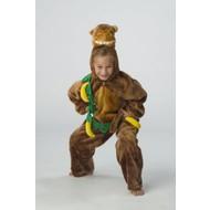 Karnevalskostüm Kinder Affe plüsche mit Banane