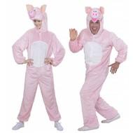 Faschingskostüme Plüsche rosa Schwein-Anzüge für Erwachsenen