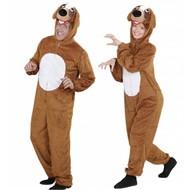 Faschingskostüme Plüsche Brauner Hund-Kostüme für Erwachsenen