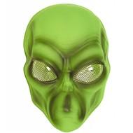 Faschings-accessoiren PVC-maske Alien