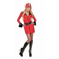 Karnevalskostüm: sexy Feuerwehr Frau