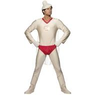 Junggesellenfest-outfit: Superman Kondom