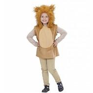 Faschingskostüme Kinder Pullover mit löwenkappe