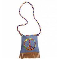 Faschings-zubehör Hippie-handtasche