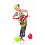 Party-kostüme: Clowns-Latzhosen