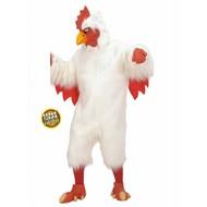 Karnevals-Kleidung: Plüsches Huhn
