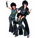 Disco-outfit: Mann, Frau, Kind