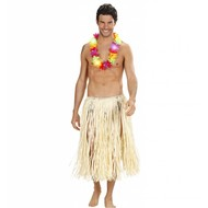 Faschings-attributen Hawaiikranz mit blinkendem Licht