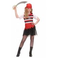 Karnevals-Kleidung Kinder: Pirat Mädchen