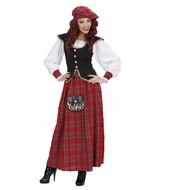 Schottisches Damenkostüm Clue