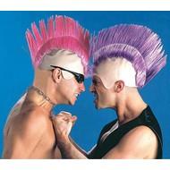 Maske Punker Glatze (einfarbig)