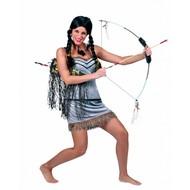 Fest-accessoiren: Indianen-Perücke Mädchen