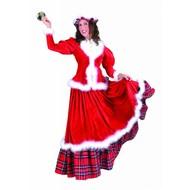Weihnachtskostüme: Traditionelle Santa Lady