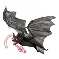 Halloween Accessoires: luxus Fledermaus mit beweglichen Flügeln, Licht und Ton