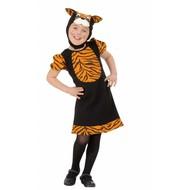 Karnevals-Kleidung Kinder: kleiner Tiger