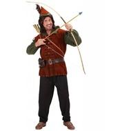 Robin Hood Kostüm Burgund