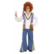 Kinder Karnevalskostüm Woodstock Hippie Boy