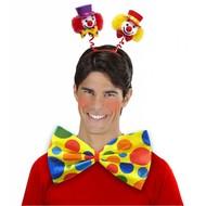 Fest-artikel Tiara Clown in zwei Farben
