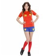 Faschingskostüme Spanisches Fußball-mädchen Gloria