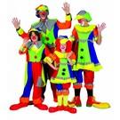"Party-kostüme: Clownsfamilie ""Smiley"""
