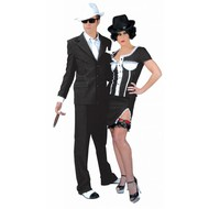 Party-kostüme: Bonny & Clyde