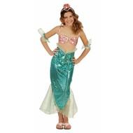 Mädchen Faschingskostüm Meerjungfrau