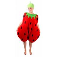 Faschingskostüm: Erdbeere