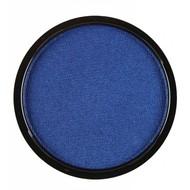 Faschings-attributen aqua Make Up Metallic blau