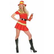 Karnevalskostüm: Feuerwehr Frau
