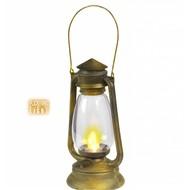 Faschings-accessoiren Lanterne mit blinkendem Licht