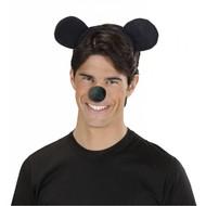 Karnevals-zubehör Kopfband Maus-ohren