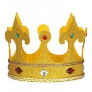 Karnevals-zubehör mini Krone Königin Saar