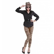 Faschingskleidung legging in Leopardprint